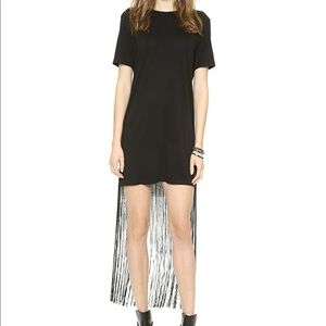 Raquel Allegra fringe t-shirt dress